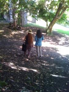 Teresa Mangiacapra et Catherine Jourdan/ Cathédrale orthodoxe russe Nice